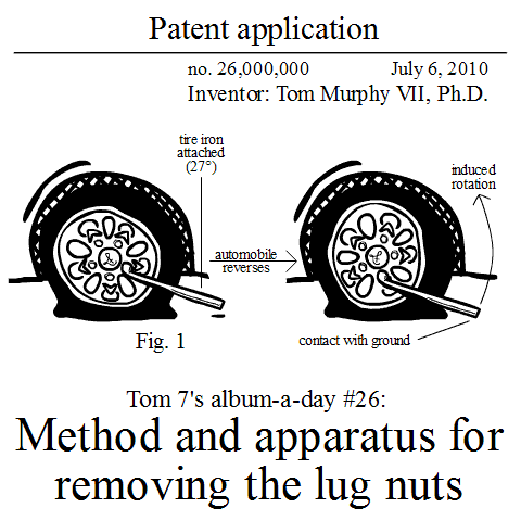Tom 7 AAD #26: Method and apparatus for removing the lug nuts