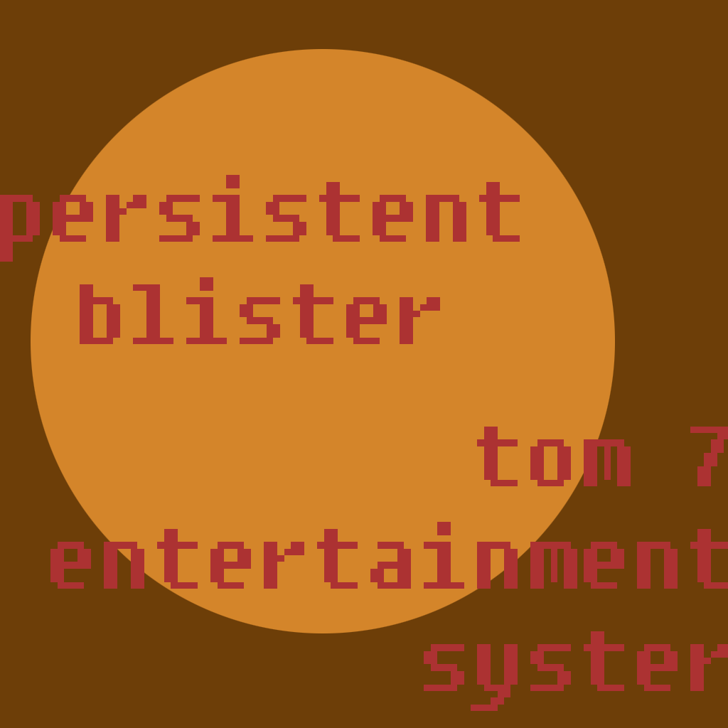 Tom 7 Entertainment System - Persistent Blister